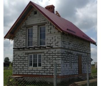 Строительство дома под черный ключ 96 м2 в Калининграде Сокольники