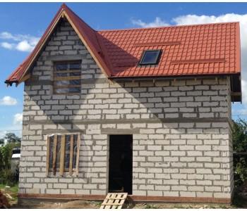 Строительство дома под черный ключ 96 м2 в Калининграде ул. Суворова