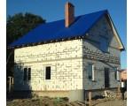 Строительство дома под черный ключ 128м2  в Калининграде п. Клинцовка