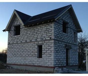 Строительство дома под черный ключ 96 м2 в Калининграде Взморье Новое
