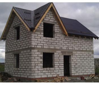 Строительство дома под черный ключ 96 м2 в Калининграде г. Гурьевск
