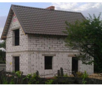 Строительство дома под черный ключ 96м2 в Калининграде ул. лейтенанта Катина