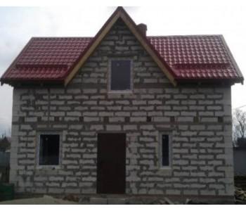 Строительство дома под черный ключ 96м2 в Калининграде п.Взморье