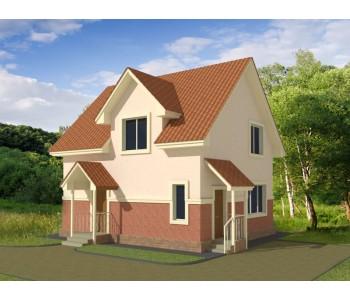 Индивидуальный архитектурный проект ( до 150 кв.м.)