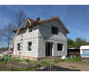 Строительство дома под черный ключ 128м2  в Калининграде ул. Аллея Смелых
