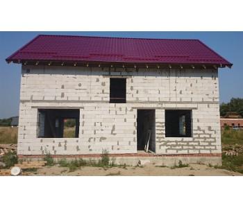 Строительство дома под черный ключ 160м2 в Калининграде п.Константиновка