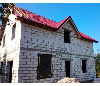 Строительство дома под черный ключ 160м2 в Калининграде ул. Горького