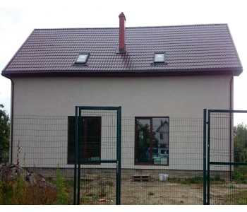Строительство дома под черный ключ 256м2 в Калининграде ул.Горького