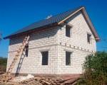 Строительство дома под черный ключ 128 м2 в Калининграде г.Гурьевск
