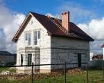 Строительство дома под черный ключ 160м2 в Калининграде п.Луговое