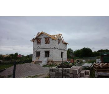 Строительство дома под черный ключ 96 м2 в п.Муромское