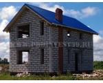 Строительство дома под черный ключ 96 м2 в п.Малиновка