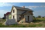 Строительство дома под черный ключ 128 м2 в Калининграде п.Коврово