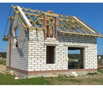 Строительство дома под черный ключ 160 м2 в Калининграде п.Приморье