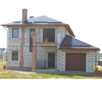 Строительство дома под черный ключ 180 м2 в Калининграде п.Заостровье