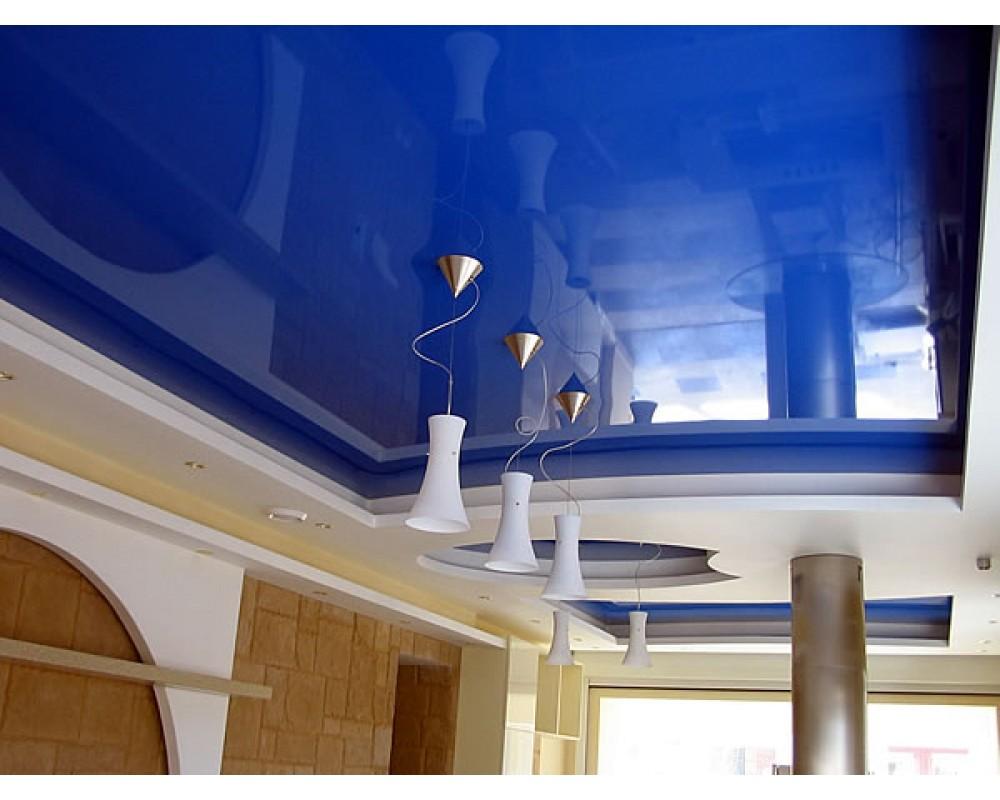 Глянцевые натяжные потолки плюсы и минусы фото
